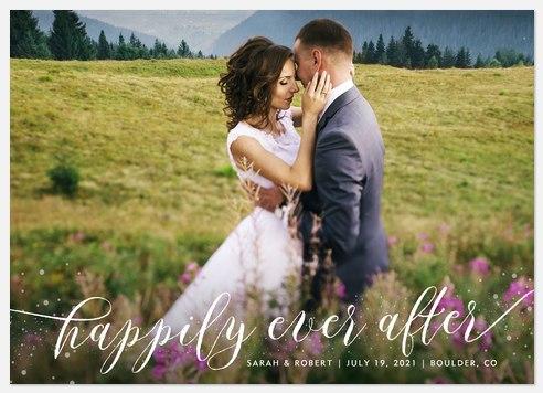 Fairytale Love Wedding Announcements