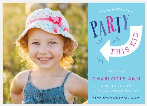 This Kid Kids' Birthday Invitations
