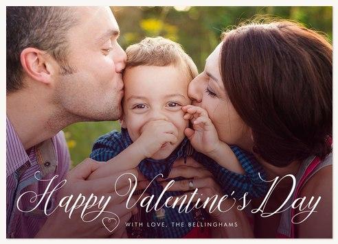 Valentine Script Valentines Cards