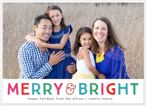 Bright Tidings Holiday Photo Cards