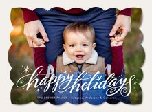 Photo Holiday Cards Simply To Impress