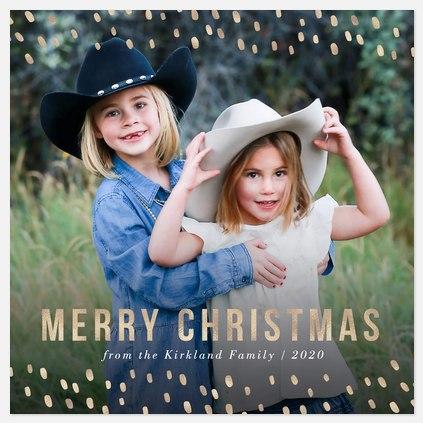 Holiday Lights Holiday Photo Cards