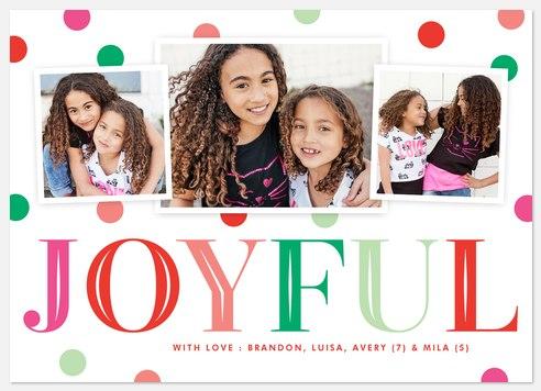 Gumdrop Jingle Holiday Photo Cards