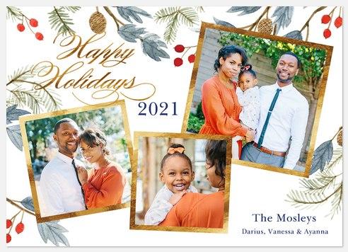 Woodland Jubilee Holiday Photo Cards