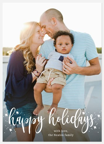 Northern Lights Holiday Photo Cards