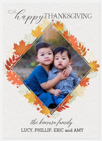 Autumn Watercolor Thanksgiving Cards