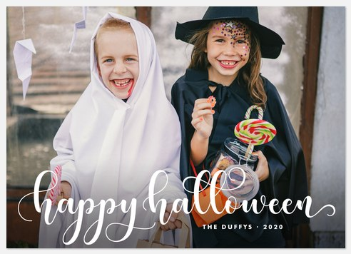 October Occasion Halloween Photo Cards