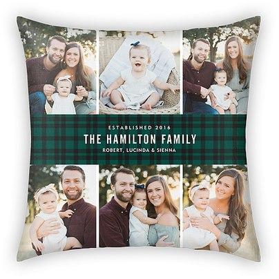 Tartan Banner Custom Pillows