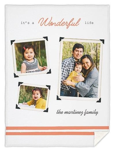 Wonderous Snapshots Custom Blankets