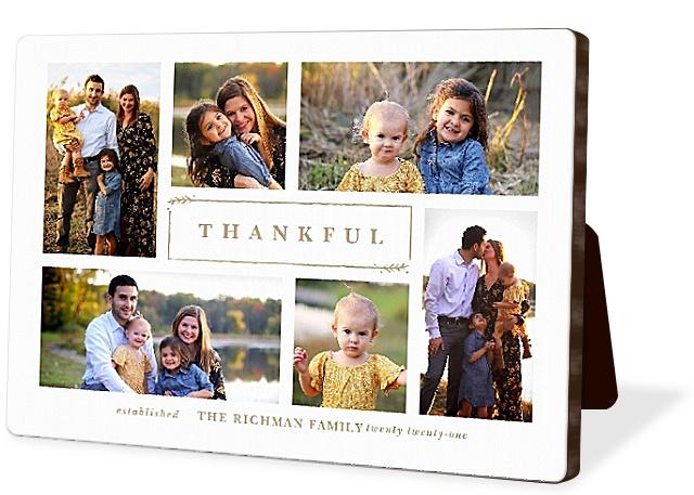 Grateful Harvest Photo Easel Panels