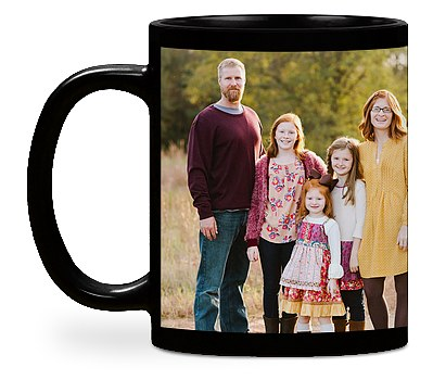 Two Photo Custom Mugs