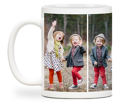Four Photo Custom Mugs