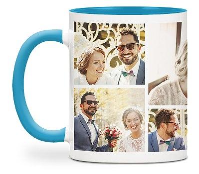 Seven Photo Custom Mugs