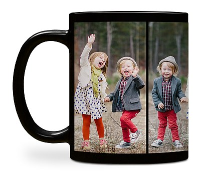 Four Photo Custom Mugs