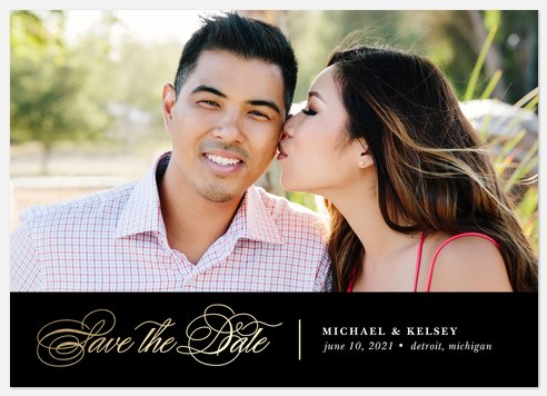Epic Date Save the Date Photo Cards