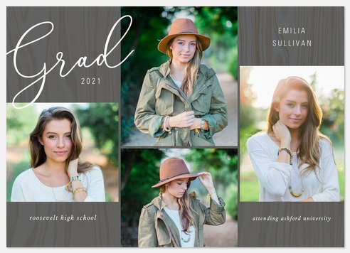 Barnwood Grid Graduation Cards