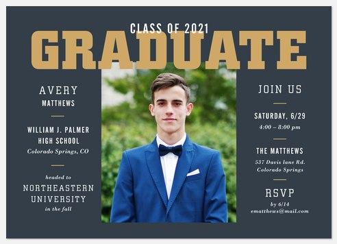 Scholarly Graduation Cards