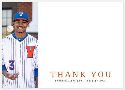 Mascot Pride Thank You Cards