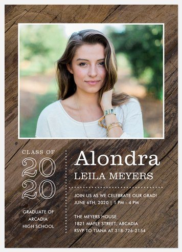 Barnwood Graduation Cards