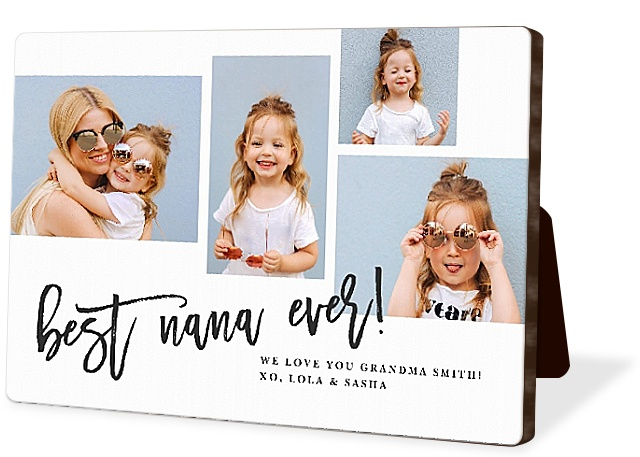 Modern Collage Photo Easel Panels