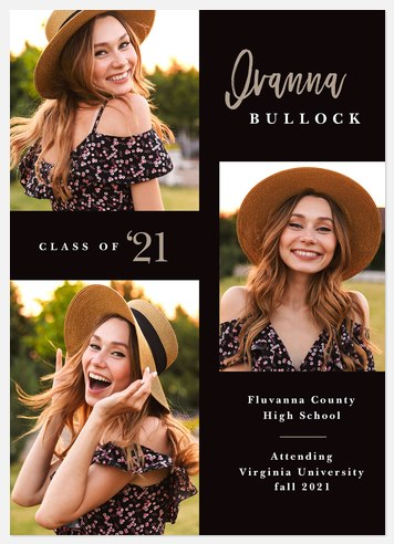 Modern Mix Graduation Cards