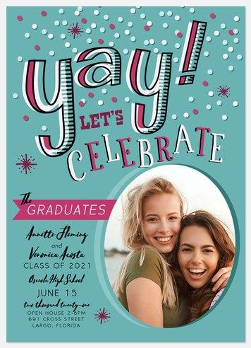 Yay Graduates Graduation Cards