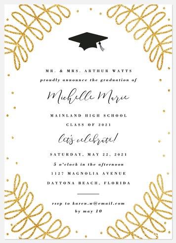 Stylish Laurels Graduation Cards