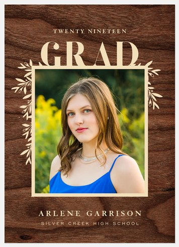Hometown Grad Graduation Cards