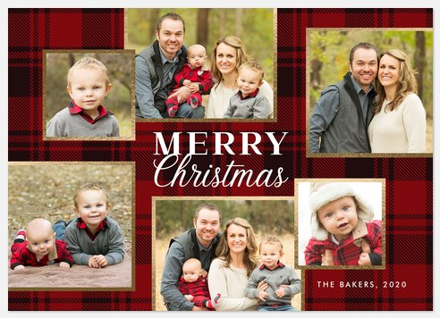 Country Charm Holiday Photo Cards