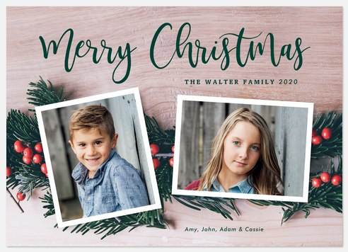 Photo Garland Holiday Photo Cards