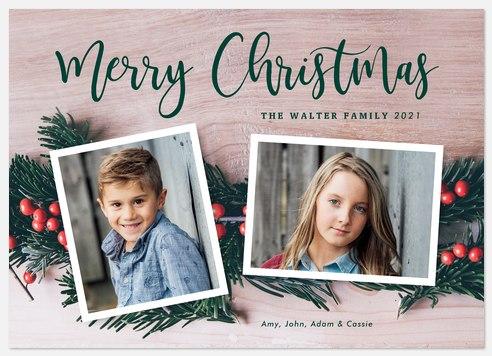 Photo Garland Holiday Photo Cards