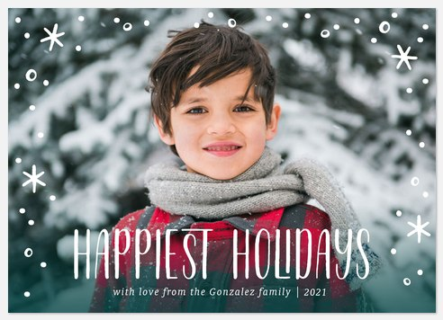 Winterglow Holiday Photo Cards