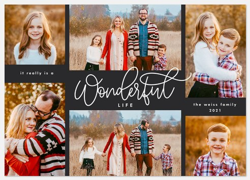 Really Wonderful Holiday Photo Cards