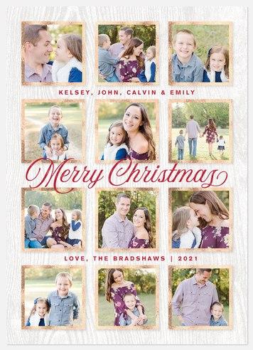 Tiny Album Holiday Photo Cards
