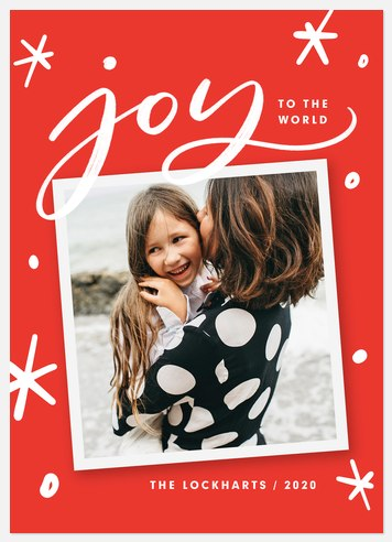 Joy in Everything Holiday Photo Cards