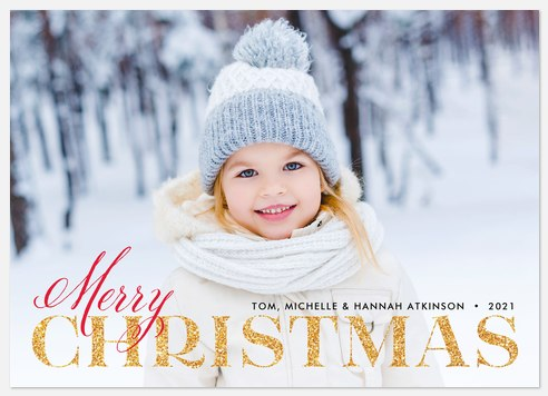Grand Traditions Holiday Photo Cards