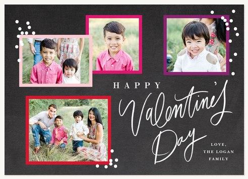 Valentine Confetti Valentines Cards