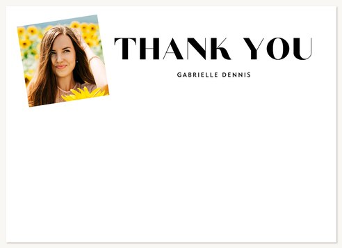 Grand Snapshot Thank You Cards