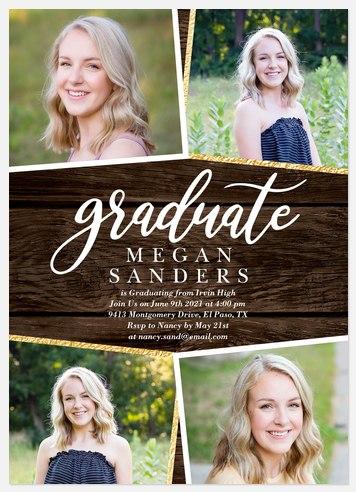 Barnwood Panel Graduation Cards