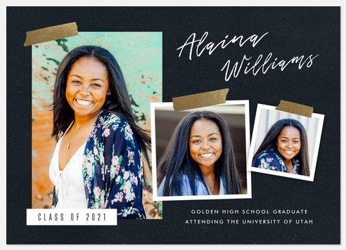 Golden Snapshots Graduation Cards