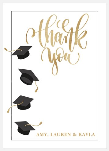 Honor The Grads Thank You Cards
