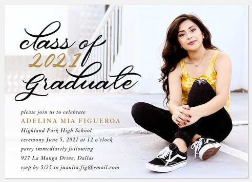 Softly Scripted Graduation Cards