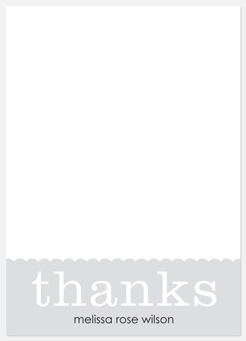Simple Box Thank You Cards