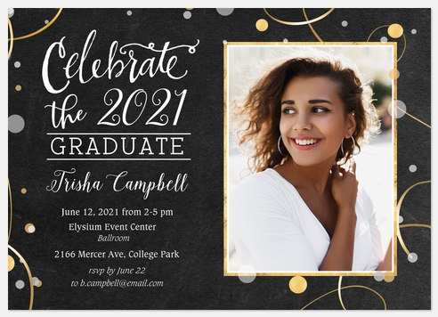 Celebration Confetti Graduation Cards