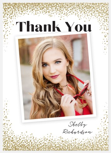 Dusted Confetti Thank You Cards