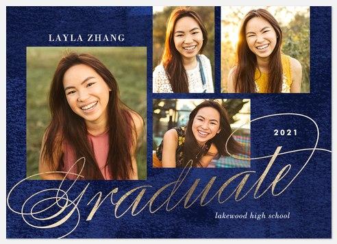 Watercolor Elegance Graduation Cards