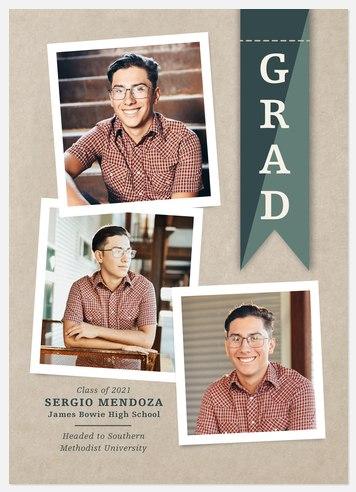 Heraldic Banner Graduation Cards