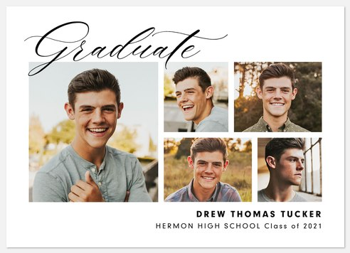 Classic Penmanship Graduation Cards