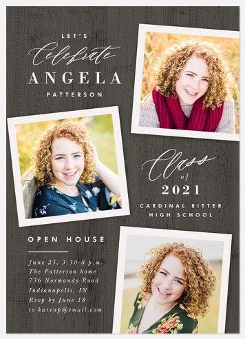 Rustica Graduation Cards