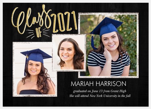 Good As Gold Graduation Cards
